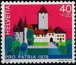 Switzerland 1979 PRO PATRIA - Castles b