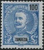 Zambezia 1898 D. Carlos I j
