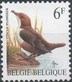 Belgium 1992 Birds (B) c