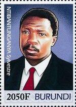 Burundi 2012 Presidents of Burundi - Sylvestre Ntibantunganya d