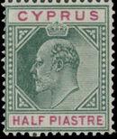 Cyprus 1904 King Edward VII a