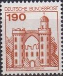 Germany, Federal Republic 1977 Strongholds and Castles g