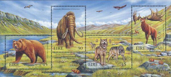 Ireland 1999 Extinct Irish Animals c