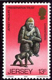 Jersey 1979 Jersey Wildlife Preservation Trust d