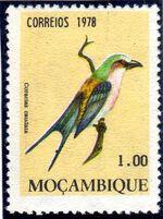 Mozambique 1978 Birds b