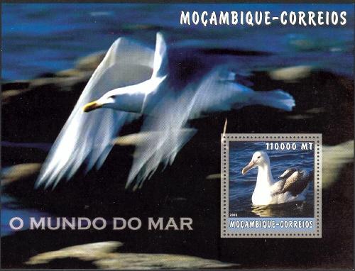 Mozambique 2002 The World of the Sea - Sea Birds 2 i