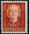 Netherlands 1949 Queen Juliana - En Face (1st Group) g