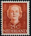 Netherlands 1949 Queen Juliana - En Face (1st Group) g.jpg