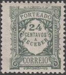 Portugal 1922 Postage Due Stamps (Unicolor) g