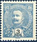 Portuguese India 1903 D. Carlos I - New Colours and Values e