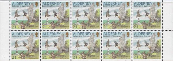 Alderney 2000 WWF Peregrine Falcon Ba1