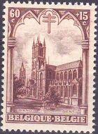 Belgium 1928 Anti Tuberculosis - Cathedrals c