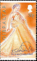 Gibraltar 1997 Dior Fashion Designs by John Galiano c