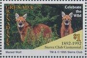 Grenada Grenadines 1995 100th Anniversary of Sierra Club - Endangered Species i