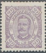 Macao 1894 Carlos I of Portugal d