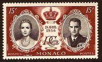 Monaco 1956 Wedding of Prince Rainier III & Grace Kelly e
