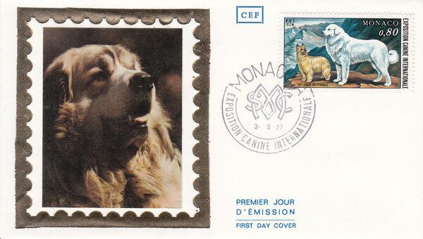 Monaco 1977 International Dog Show, Monte Carlo FDCa