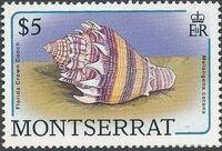 Montserrat 1988 Sea Shells n