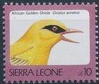 Sierra Leone 1992 Birds e