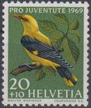 Switzerland 1969 PRO JUVENTUTE - Birds b