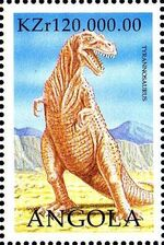 Angola 1998 Prehistoric Animals (2nd Group) e