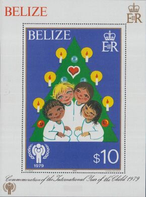 Belize 1980 International Year of the Child SSb