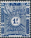 French Somali Coast 1915 Postage Due Stamps h