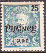 Guinea, Portuguese 1902 D. Carlos I Overprint b