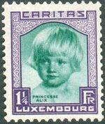 Luxembourg 1931 Princess Alix d