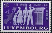 Luxembourg 1951 European Agreement b