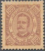 Macao 1894 Carlos I of Portugal i