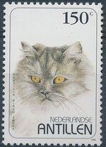 Netherlands Antilles 1995 Domestic Cats e