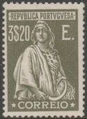 Portugal 1926 Ceres (London Issue) u