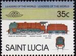 St Lucia 1983 Leaders of the World - LOCO 100 k