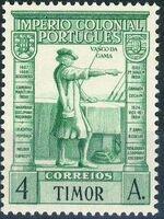 Timor 1938 Portuguese Colonial Empire e
