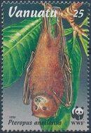 Vanuatu 1996 WWF Flying Foxes b