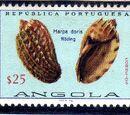 Angola 1974 Sea Shells