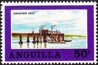 Anguilla 1969 Salt Industry d