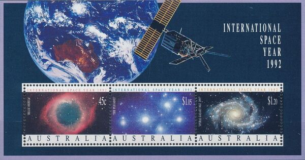 Australia 1992 International Space Year h
