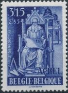 Belgium 1948 Surtax to aid the Abbey of the Trappist Fathers at Achel d
