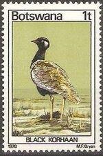 Botswana 1978 Birds of Botswana a
