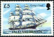 Falkland Islands 1989 Ships of Cape Horn p