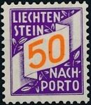 Liechtenstein 1928 Postage Due Stamps (Swiss Administration of the Post Office) h