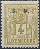 Luxembourg 1882 Industry and Commerce Overprinted c