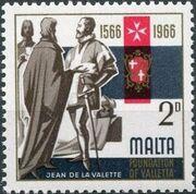 Malta 1966 4th Centenary Of The Foundation Of Valletta a