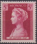 Monaco 1957 Birth of Princess Caroline d