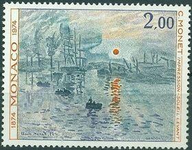 Monaco 1974 100th Anniversary of Impressionism c
