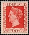 Netherlands 1948 Queen Wilhelmina - Type Hartz h