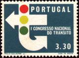 Portugal 1965 1st National Traffic Congress b