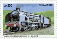 Sierra Leone 1995 Railways of the World la